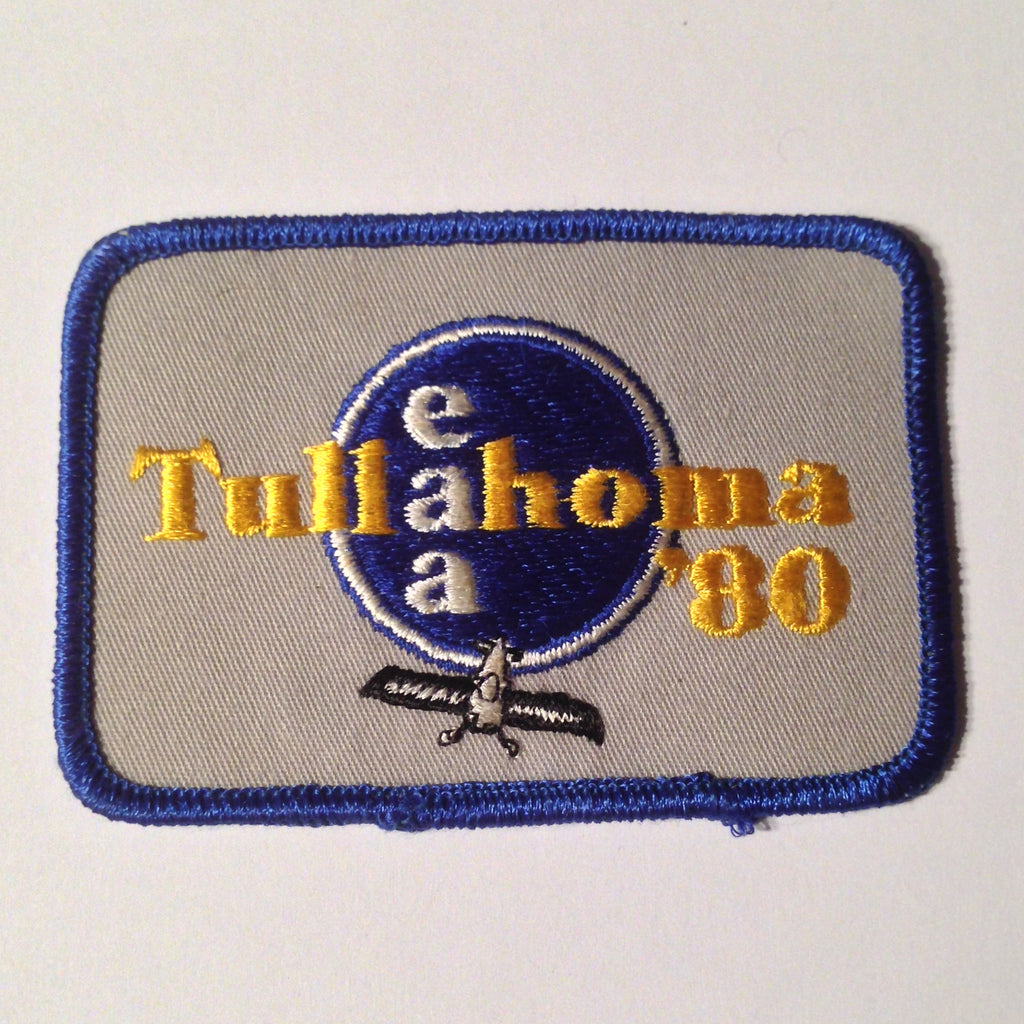 "Original EAA Tullahoma 1980 Patch.  Never used 3.75"" Cloth."