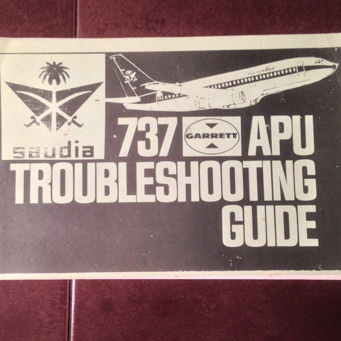 Garrett APU in 737 Troubleshooting Guide.  Circa 1970.
