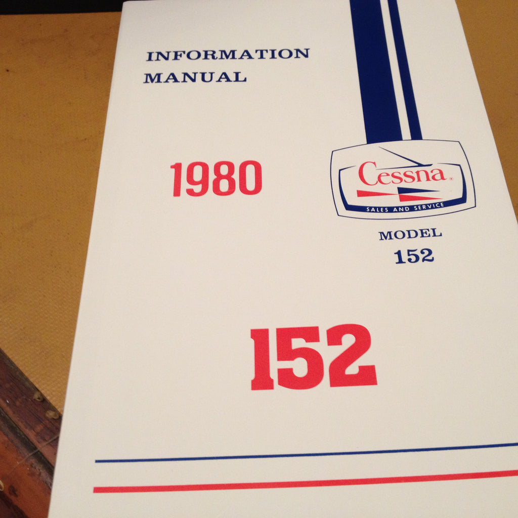 1980 Cessna 152 Pilot's Information Manual