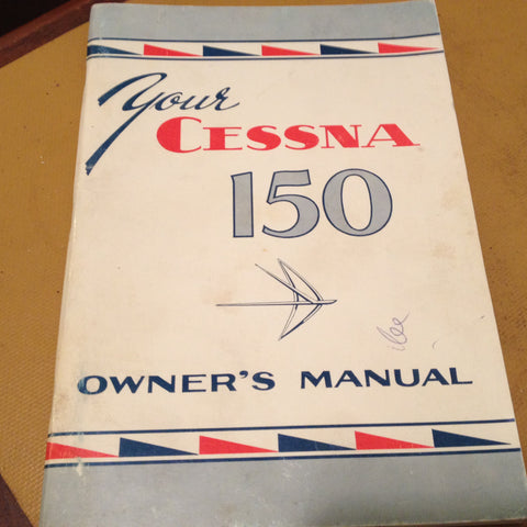 1959 and 1960 Cessna 150 Owner's Manual.