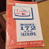 1967 Cessna 172 Owner's Manual.