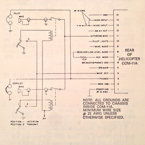 on narco 120 wiring diagram