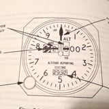 1977 Cessna ARC Avionics Pilot's Operating Handbook Supplement.  Circa 1977.