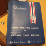 Beechcraft Baron E55 and E55A Pilot's Operating Handbook.  Circa 1973.
