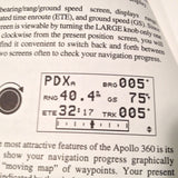 Apollo 360 Map Display User's Guide.  Circa 1996.