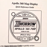 Apollo 360 MAP Display Quick Reference Guide.  Circa 1996.