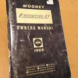 1969 M20F Mooney Executive 21 Owner's Manual.