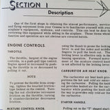 1962 Cessna 150B Owner's Manual.