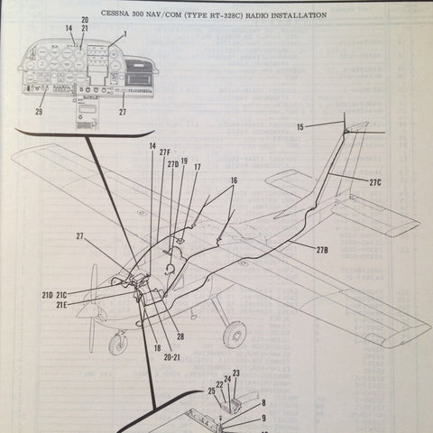 Wiring Diagram For A Cessna - Wiring Diagrams on
