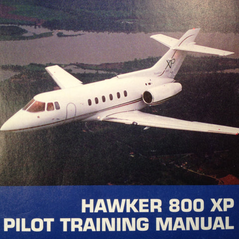 Hawker 800XP Pilot Training Manual, Vol. 1 Operational Information.