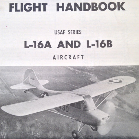 Original 1948 L-16A and L-16B Flight Handbook , revised 1953 aka Aeronca Champion.