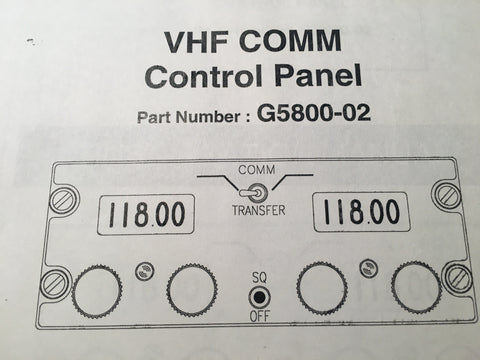 Gables G5800-02 Com Control Install Manual.
