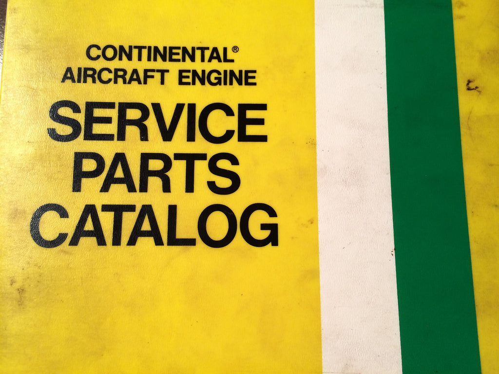 continental tsio 520 engines parts manual g s plane stuff rh gsplanestuff com tcm io-520 parts manual tsio-520 parts catalog