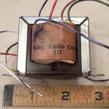 King Radio Small Part:  019-5021-00 aka 019-05021-0000 Transformer, NOS,  Circa 1970, 1980, 1990.