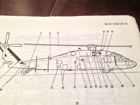 Sikorsky UH-60A and EH-60A Black Hawk Helicopter Operator's Manual.