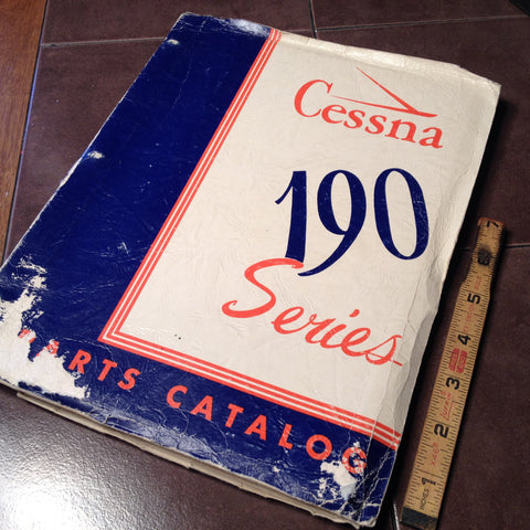1952 Cessna 190 Series Parts Manual.