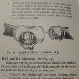 Rotol Airscrews 4 & 5 Hydraulically Operated Propeller Installation, Operation & Service Manual. R4T, R4 & R5 Series.  Circa 1941.