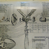 Hartzell HC-82X Series, HC-83X Series & HC-93Z Series Propeller Operation Overhaul Manual. Circa 1958.