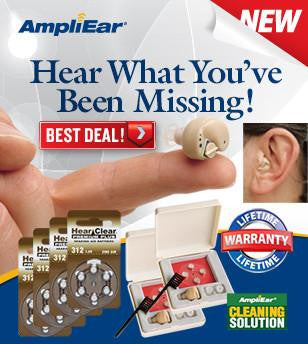 Ampli Ear Personal  Sound Amplifier Complete Collection