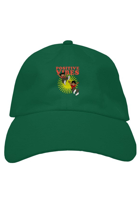 Positive Vibes Premium Dad Hat