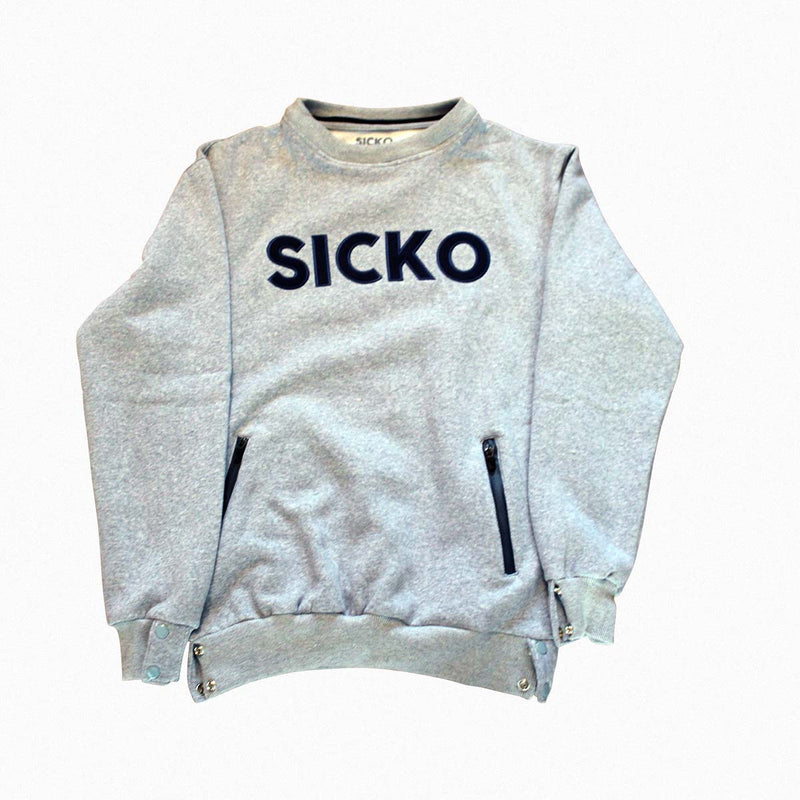Sicko Removable Hoodie Sweathsirt - SiCKO Clothing