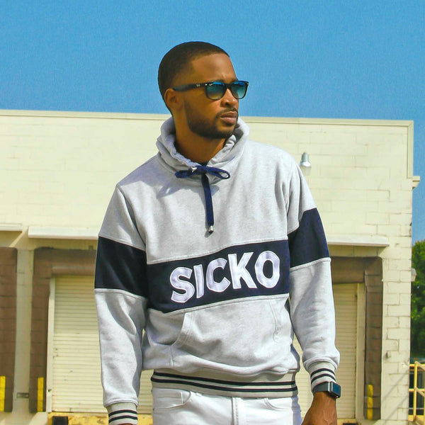 SICKO® Embroidered Hoodie - SiCKO Clothing