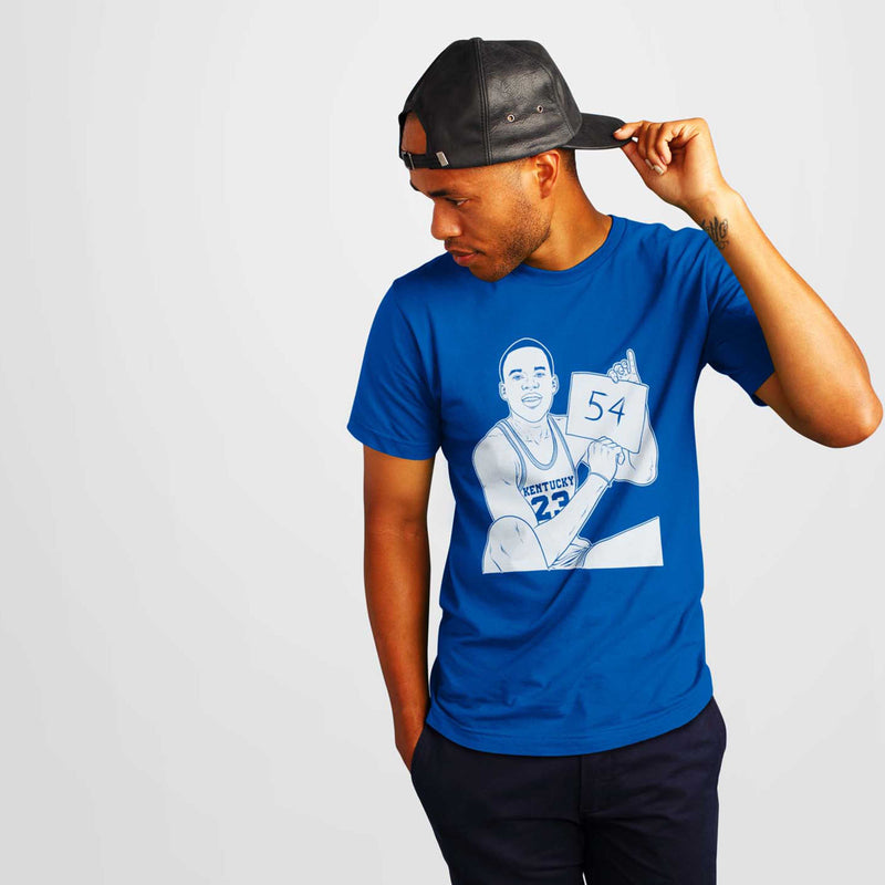 "Jodie Meeks Kentucky  ""54"" Shirt - SiCKO Clothing"