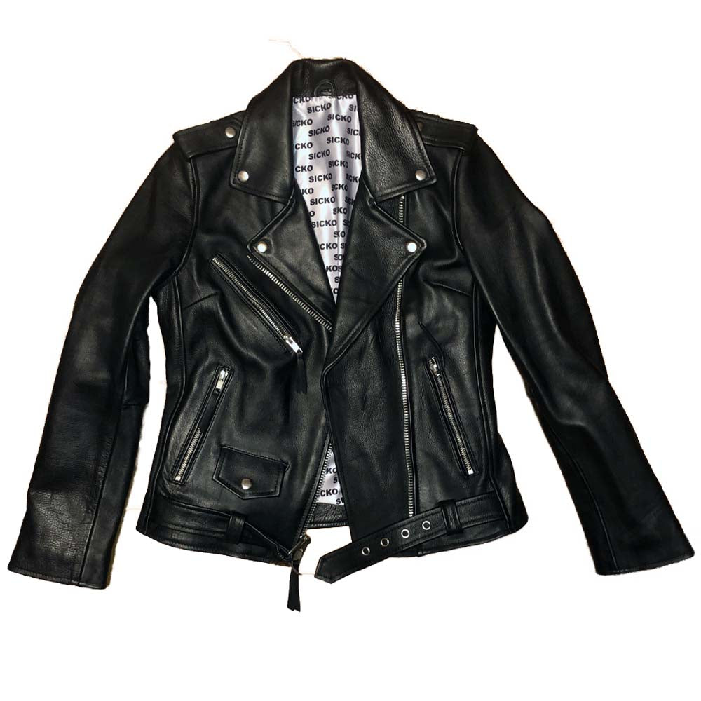 Lady Sicko Leather Jacket - SiCKO Clothing