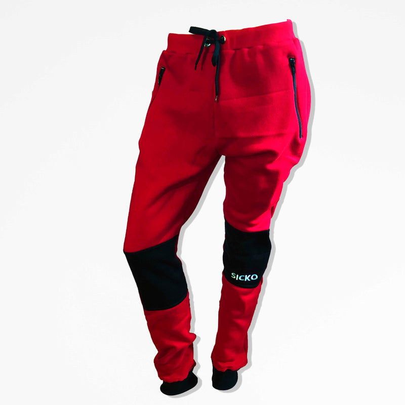 SICKO® Red Hoodie & Jogger Set - SiCKO Clothing