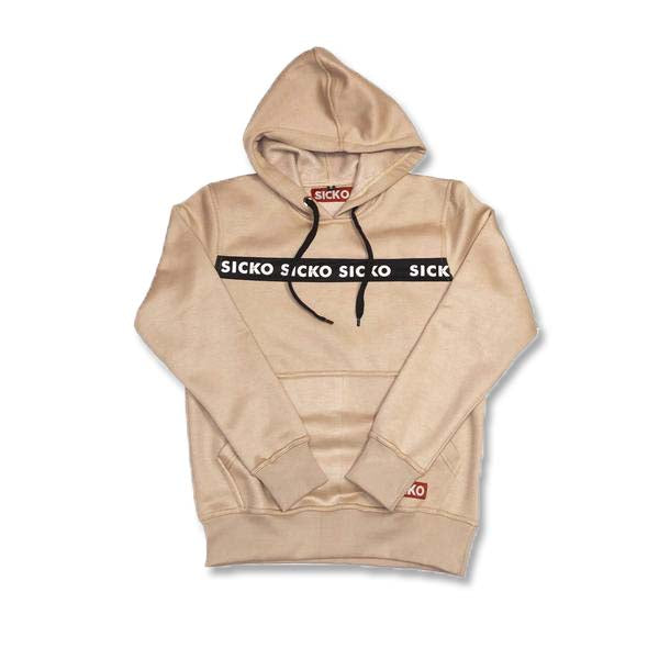 SICKO  Logo Tape Hoodie - SiCKO Clothing