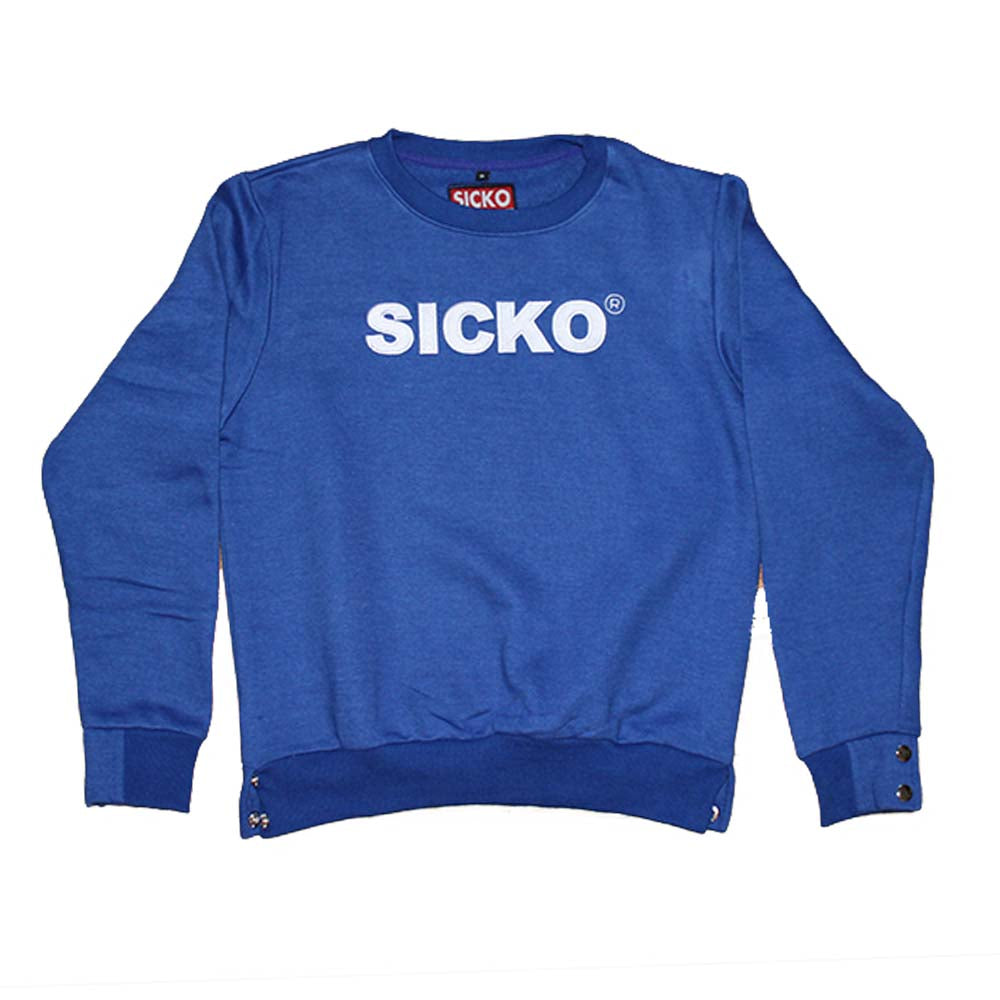 Sicko Royal Blue Crewneck Sweatshirt