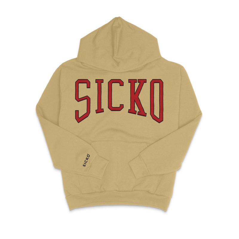 SICKO Embroidered Logo Hoodie