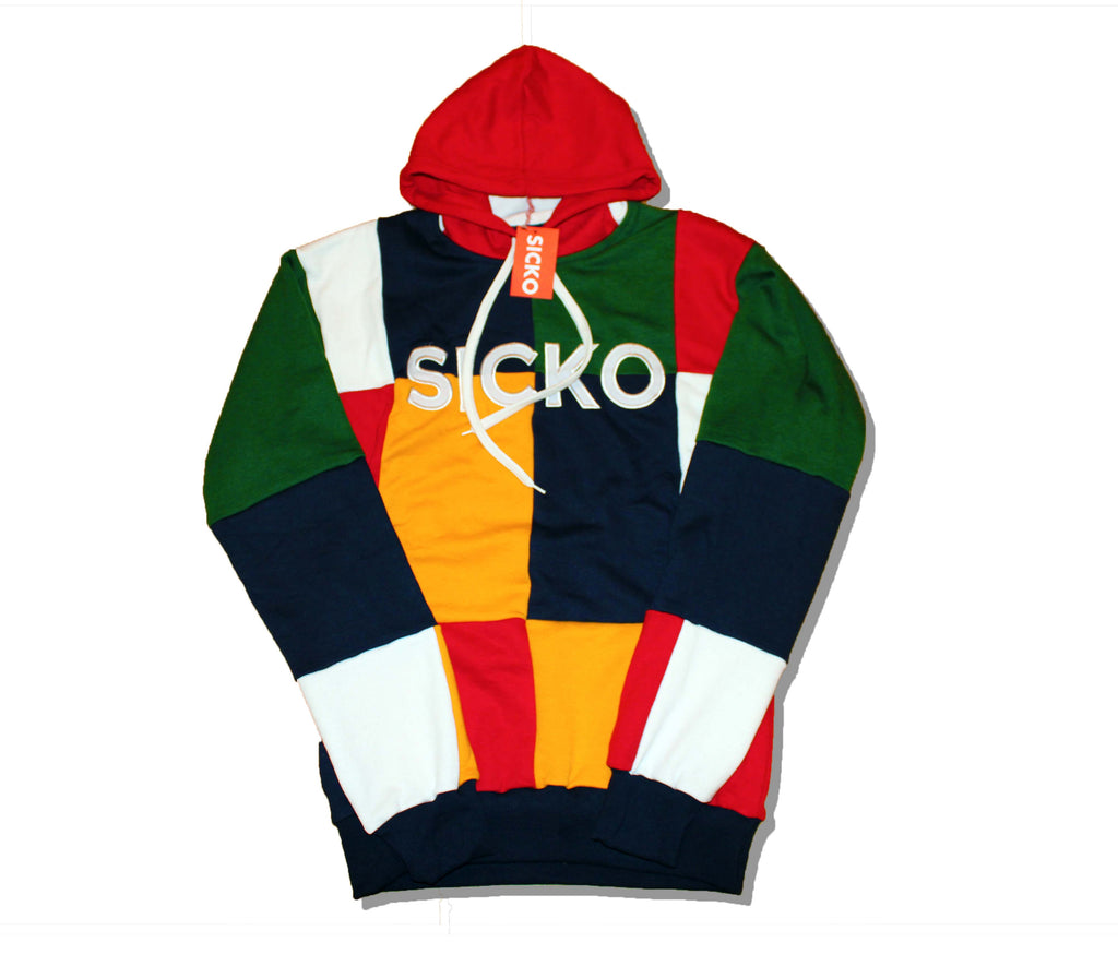 Sicko Colorblock Hoodie Sweatshirt - SiCKO Clothing