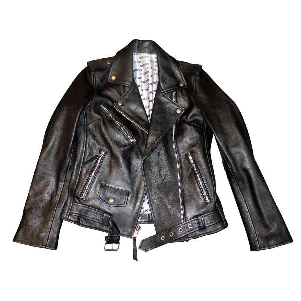 Lady Sicko Leather Jacket