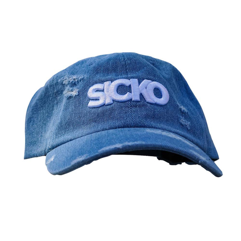 SICKO Denim Dad Hat