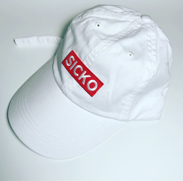 SiCKO Red Logo Dad Hat - SiCKO Clothing