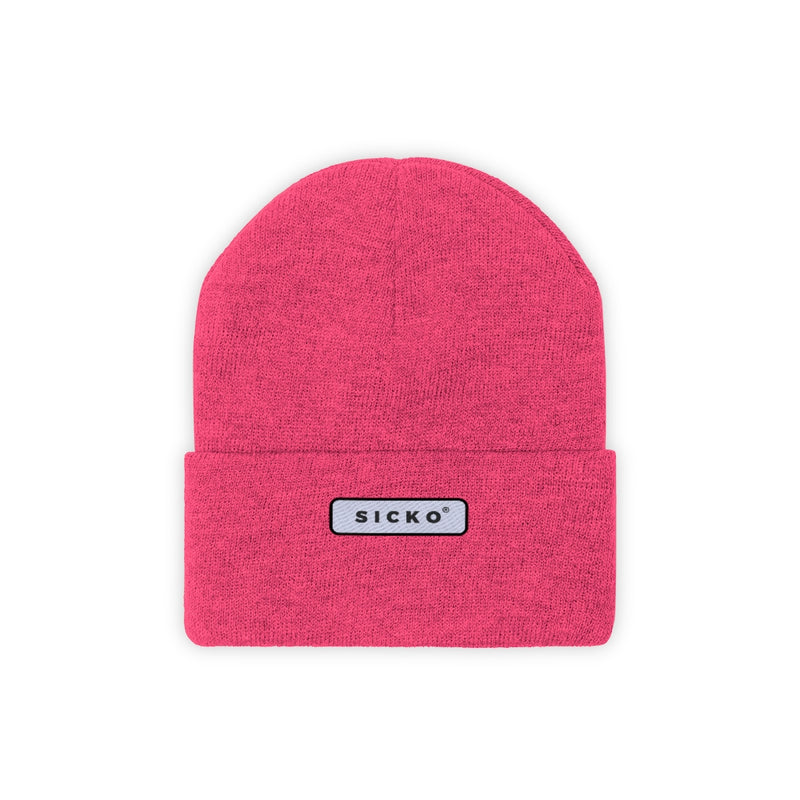 SICKO Small Patch Knit Beanie