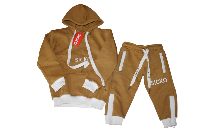 "SICKO Golden Harvest  ""Wheat"" Joggers - SiCKO Clothing"