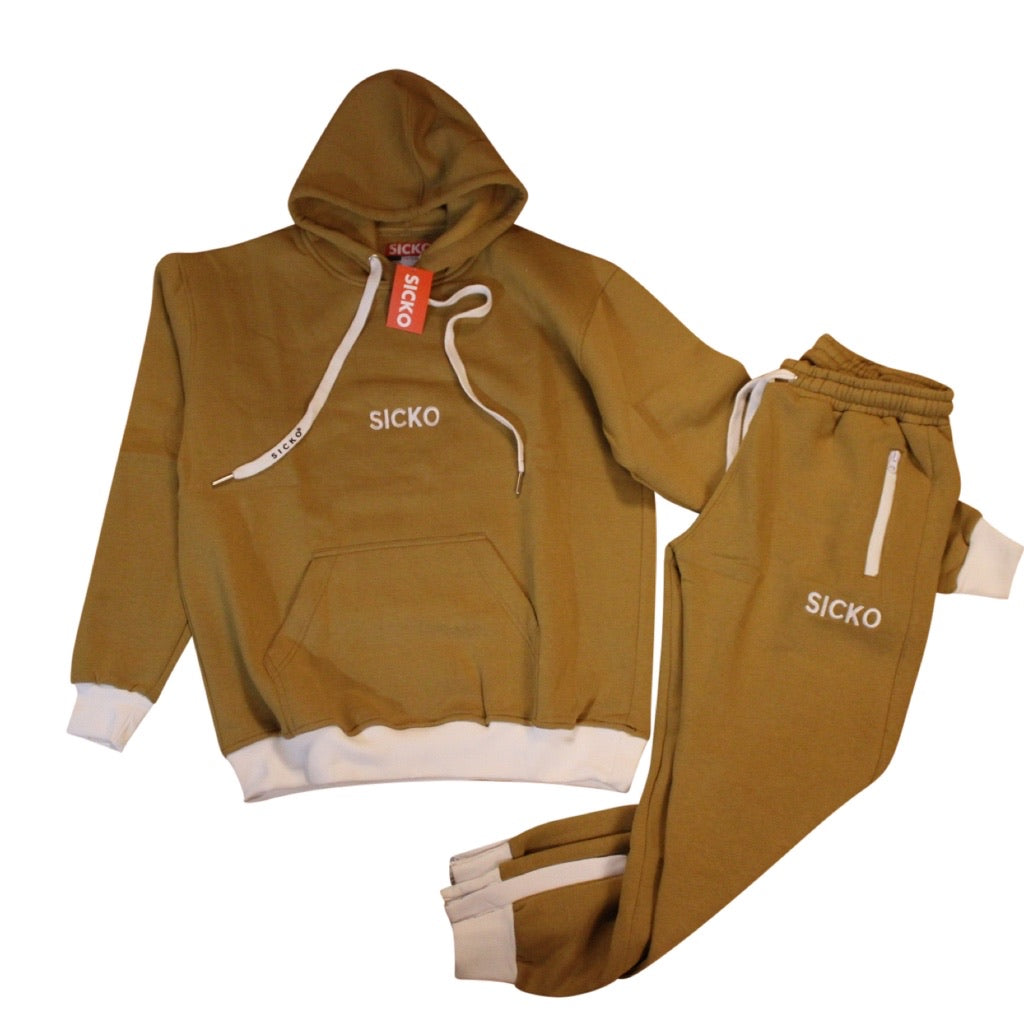 SICKO Wheat Jogger Sets