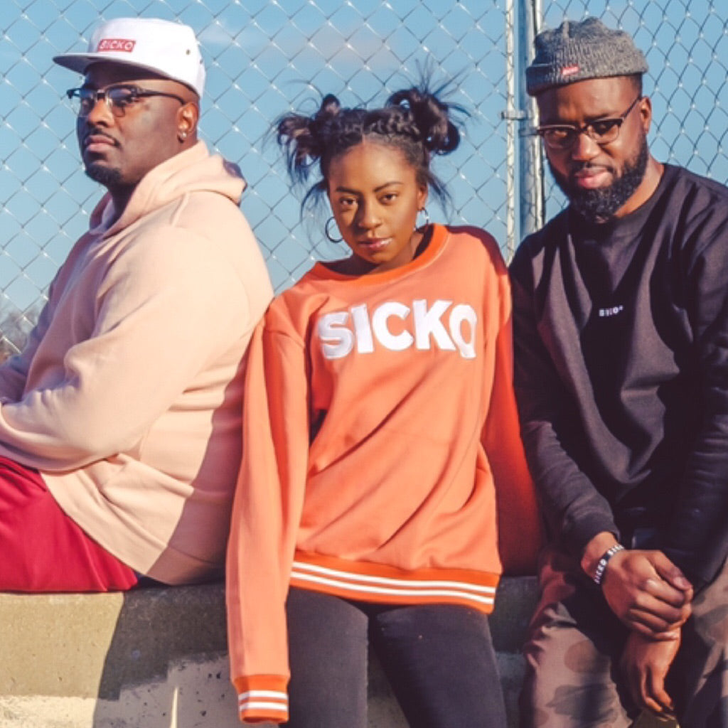 SICKO Peach Crew Sweatshirt - SiCKO Clothing