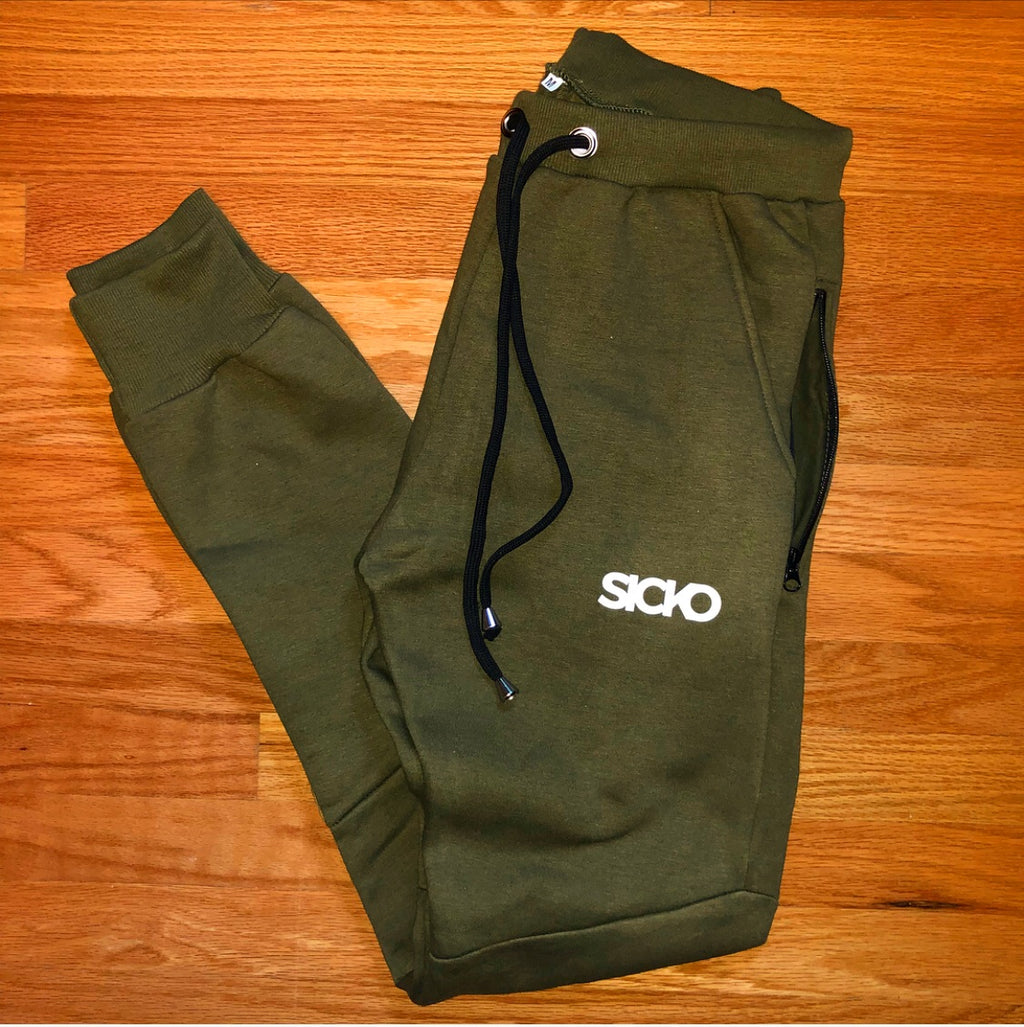 SICKO Green Joggers - SiCKO Clothing