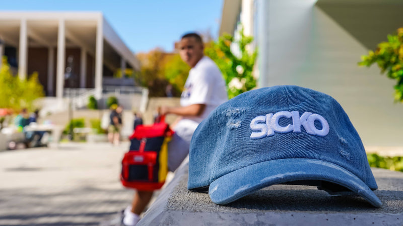 SICKO Denim Dad Hat - SiCKO Clothing