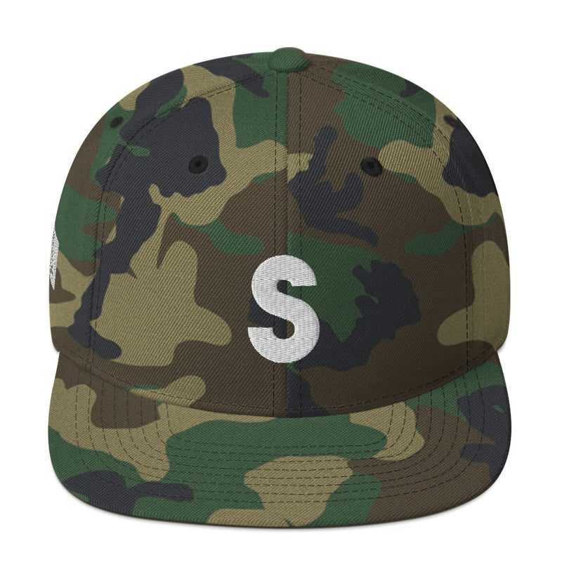 """S"" SICKO Snapback Hat - SiCKO Clothing"