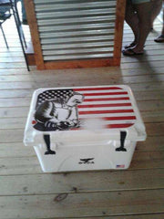 USA Tuff Custom Cooler Graphic Kits - YETI