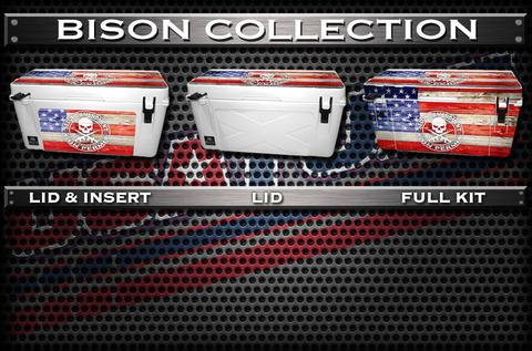 USATuff Cooler Wrap Cooler Skin for Bison Collection