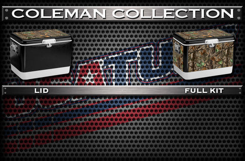 Decals For Coleman Coolers - Custom Coleman Cooler
