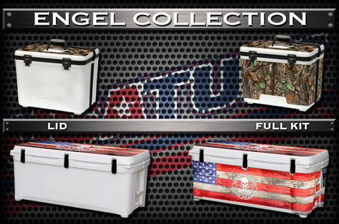 Decals For ENGEL Coolers - Custom ENGEL Cooler