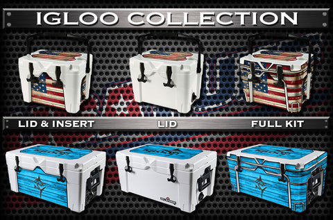 Decals For Igloo Sportsman Coolers - Custom Igloo Sportsman Cooler
