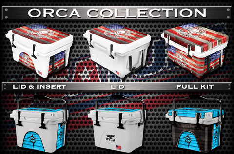 Decals For ORCA Coolers - Custom ORCA Cooler