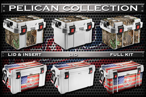 Decals For Pelican Coolers - Custom Pelican Cooler